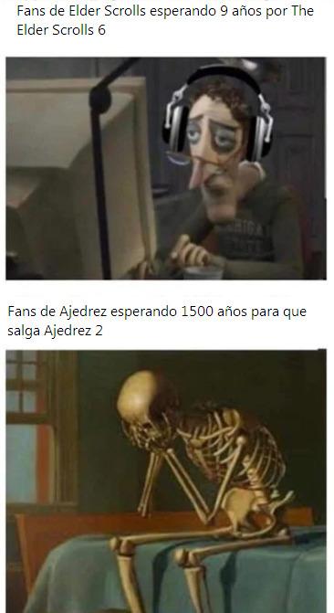 Ajedrez 2 seria mejor que Half-Life 3 - meme