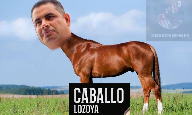 XD contexto: caballo lozoya es un candidato de un partido politico de mexico XD - meme
