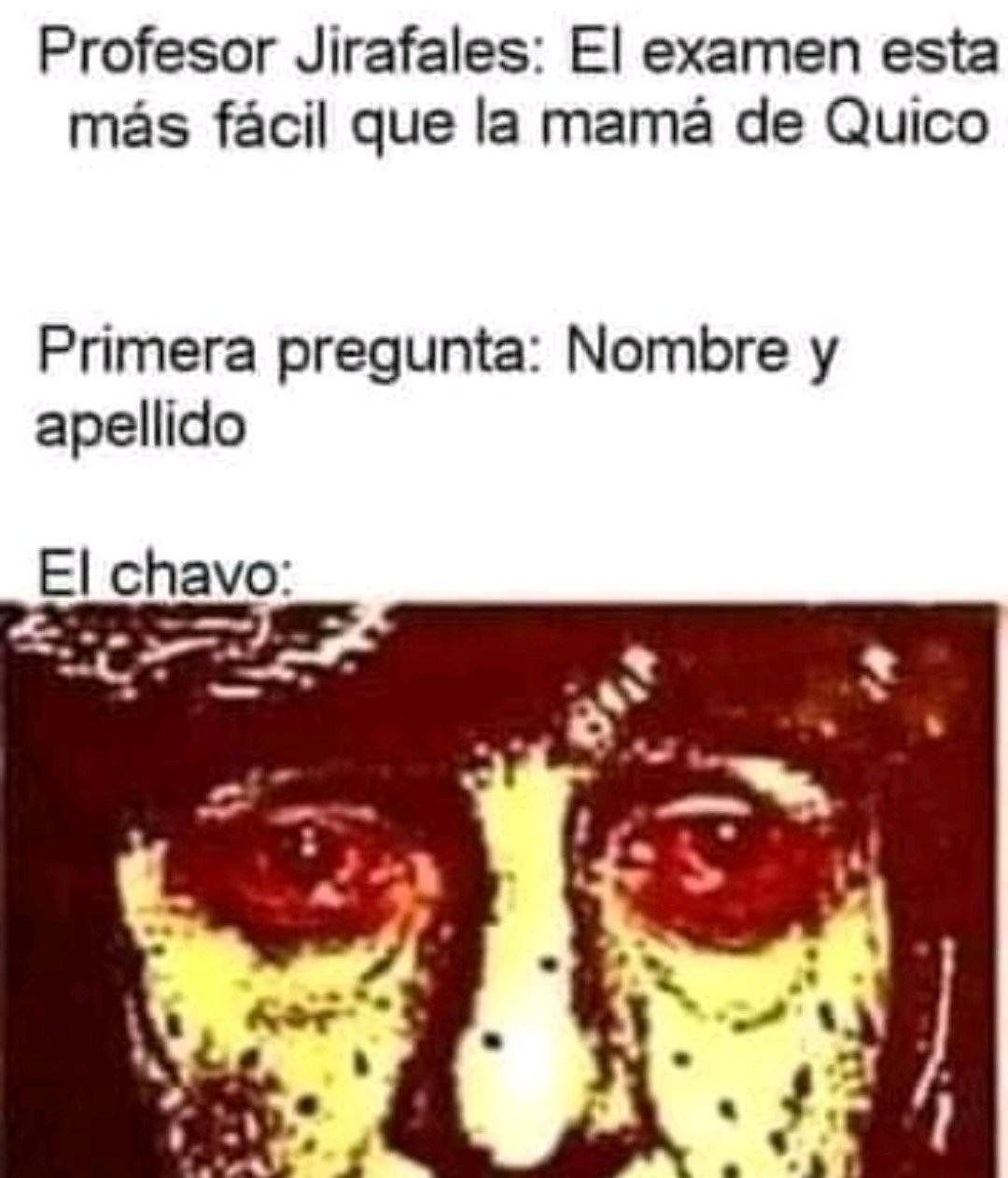 Chavo sad - meme
