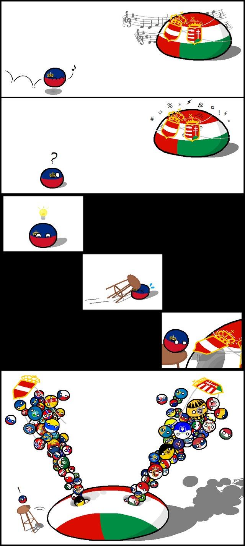 Le retour des countryballs - meme
