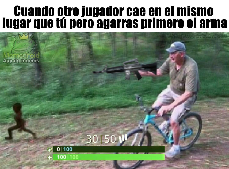 hickock45 le ha metido un escopetazo a Daequan - meme