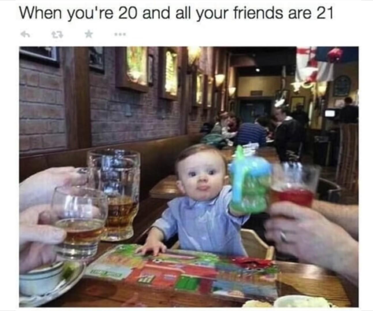 I am not that kind of friend... - meme
