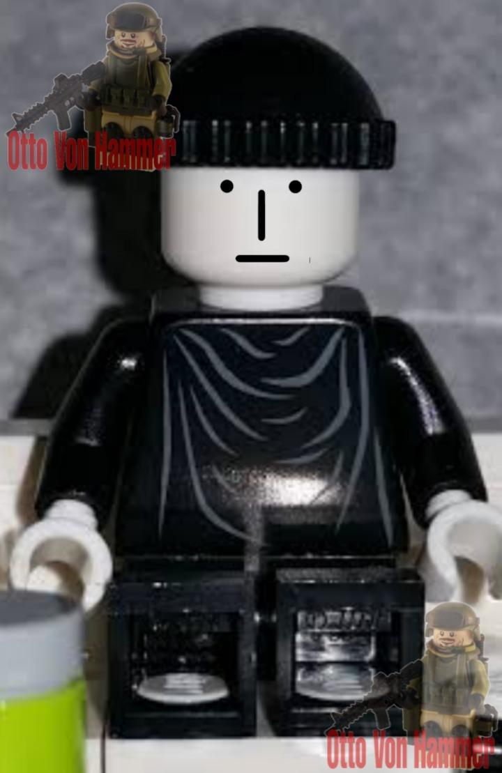 NPC y Doomer en versión LEGO - meme