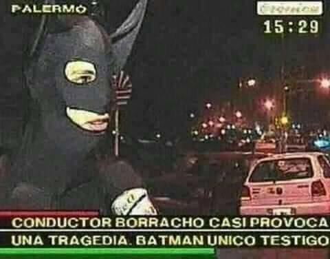 Batman testigo - meme