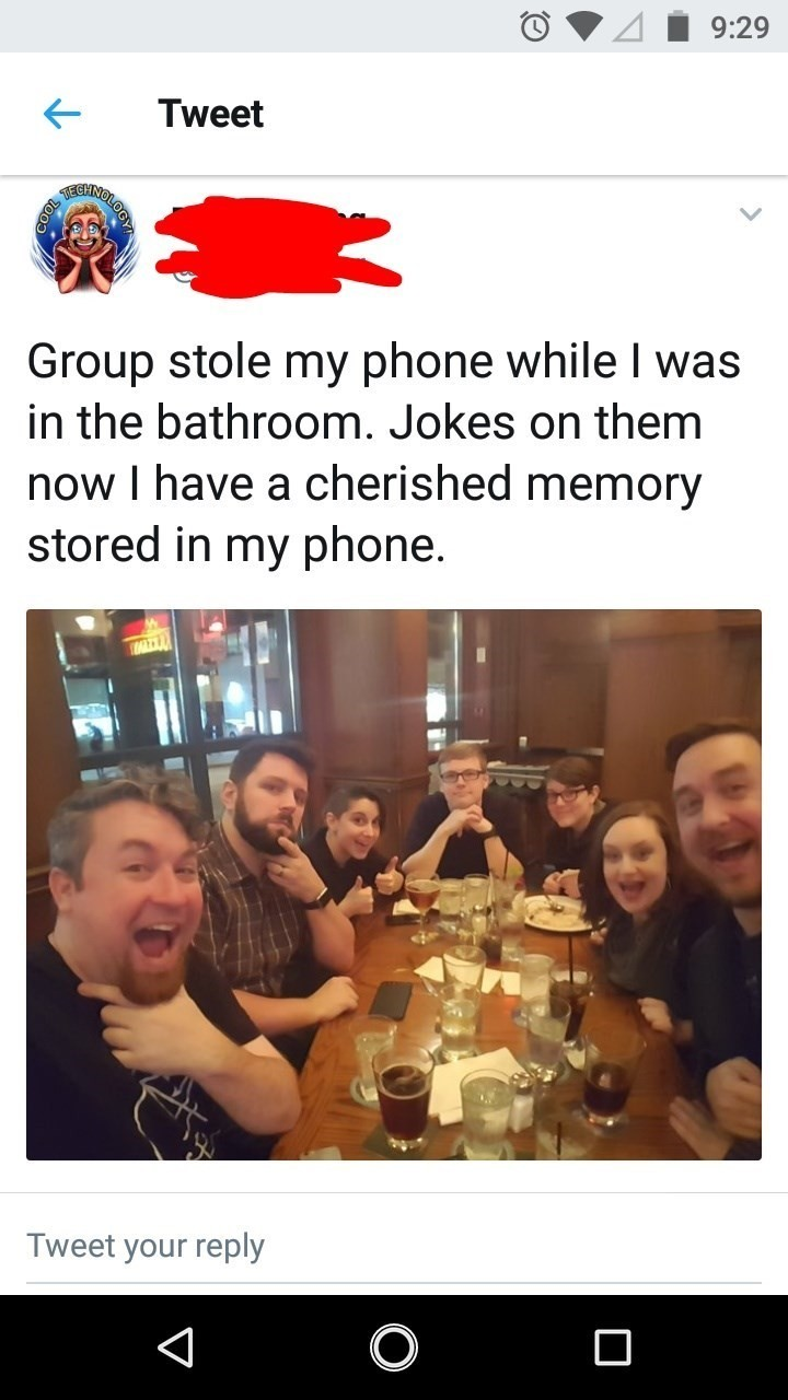 It was his group, they're not strangers. - meme