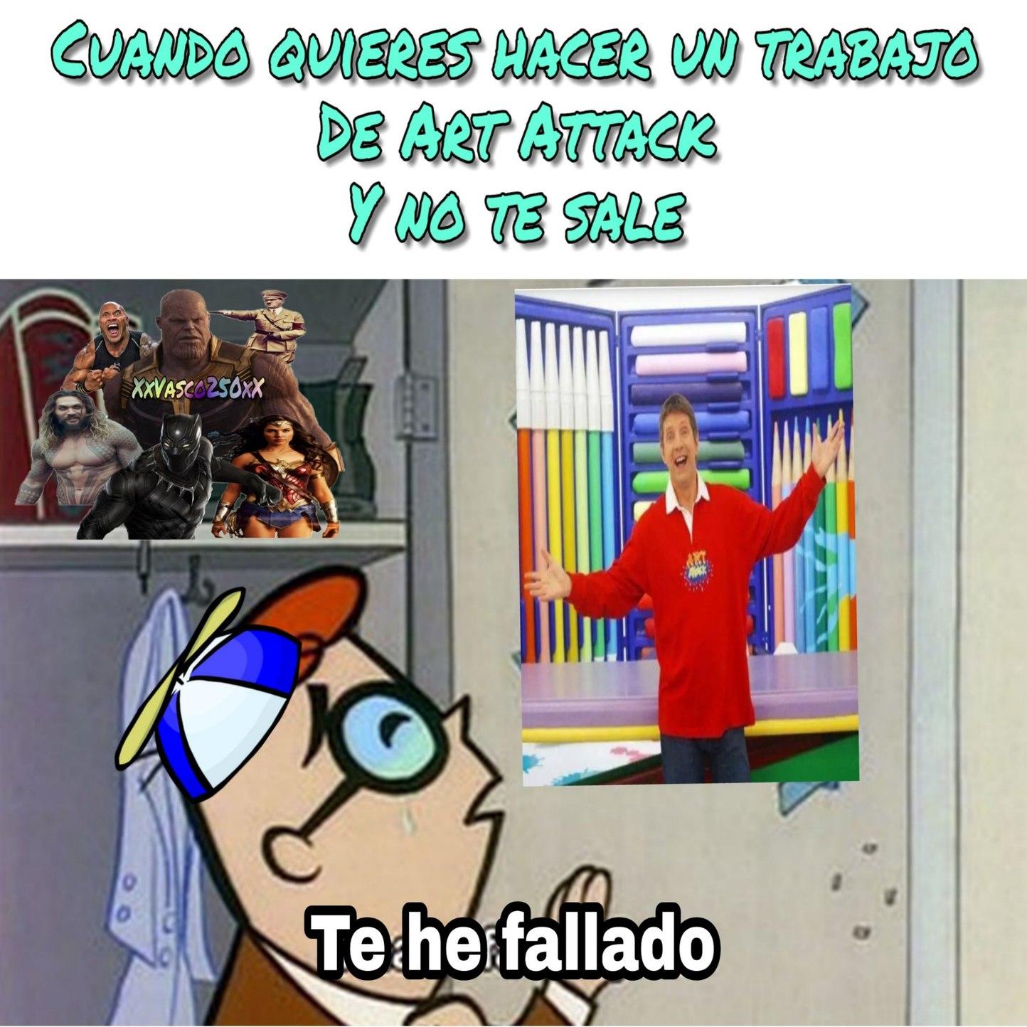 Art Attack - meme