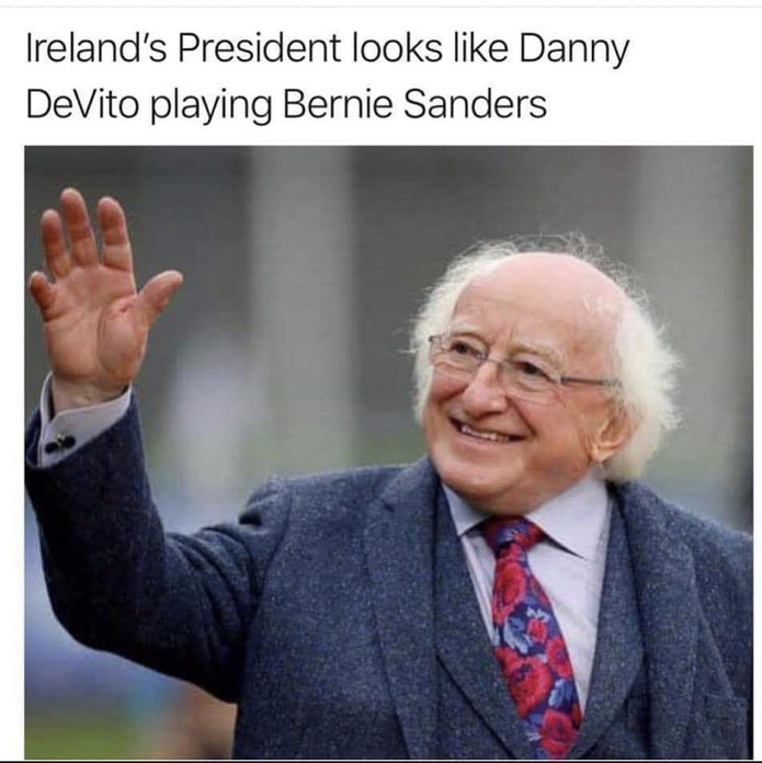 I'm burne sandahs - meme