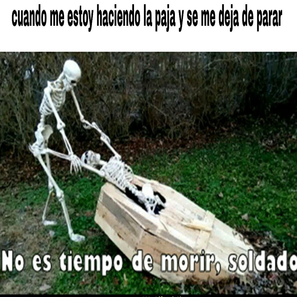 No, soldado! - meme