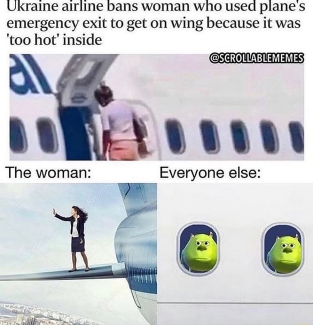 i don't the plane had took off yet. - meme