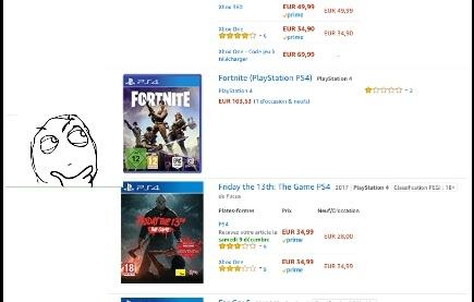 105€ pour un jeu gratuit ?c'est une bonne affaire - meme