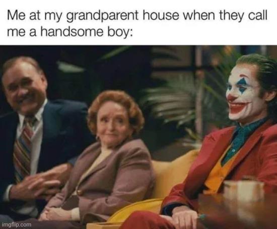 I miss my grandpa - meme