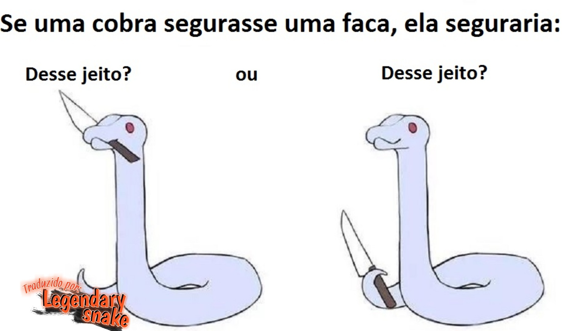 Snake?! - meme
