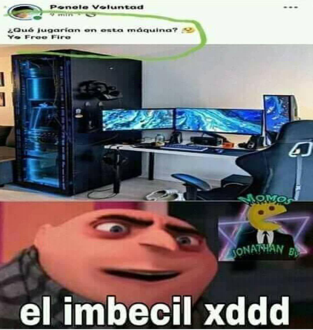 El imbecil xddd - meme