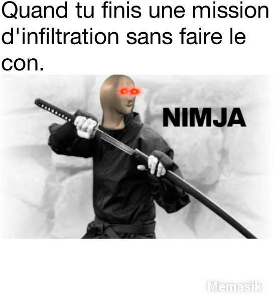 Nimja - meme