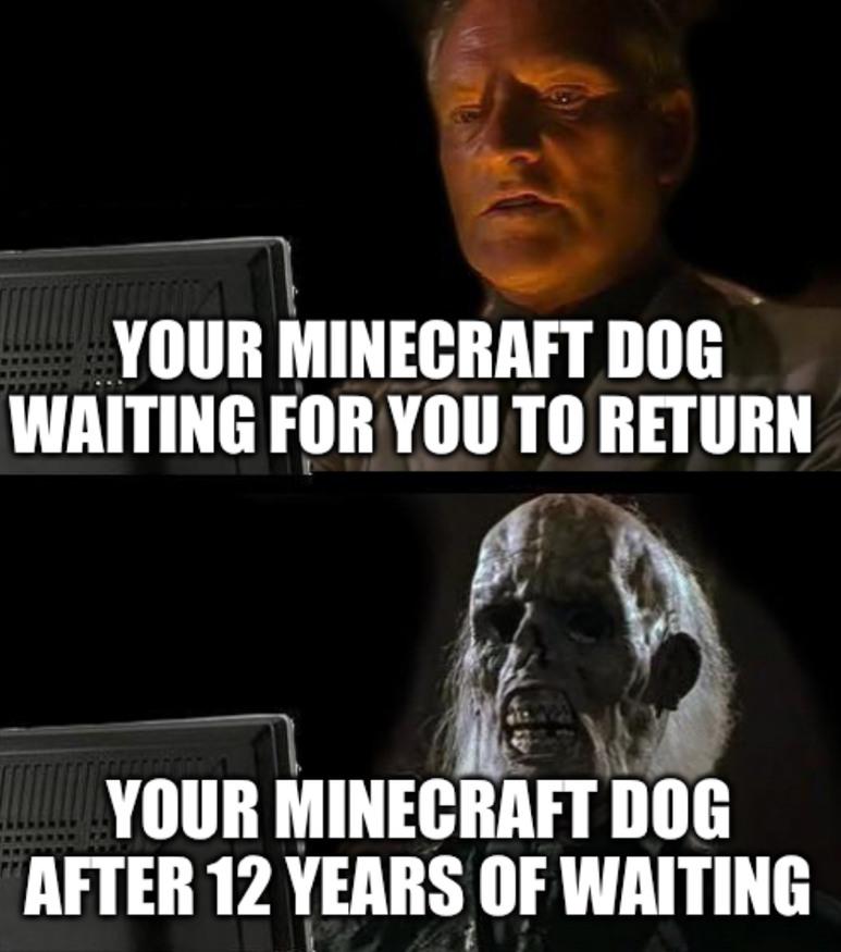 Poor dog :( - meme