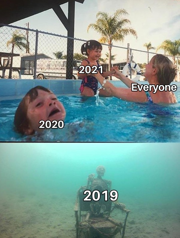 The reality of this decade - meme