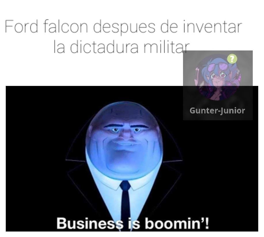 Contexto: Los milicos usaban Ford falcon para secuestrar - meme