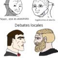 Debates locales