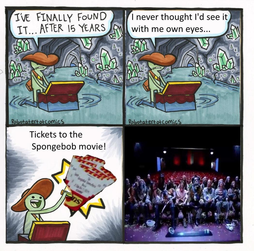 Ocean man - meme