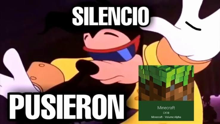 Minecraft los mejores soundrack - meme