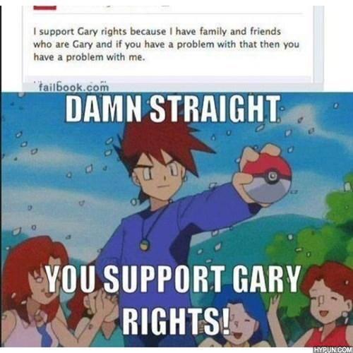 Gary Rights - meme