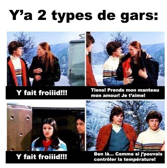 Les 2 types - meme