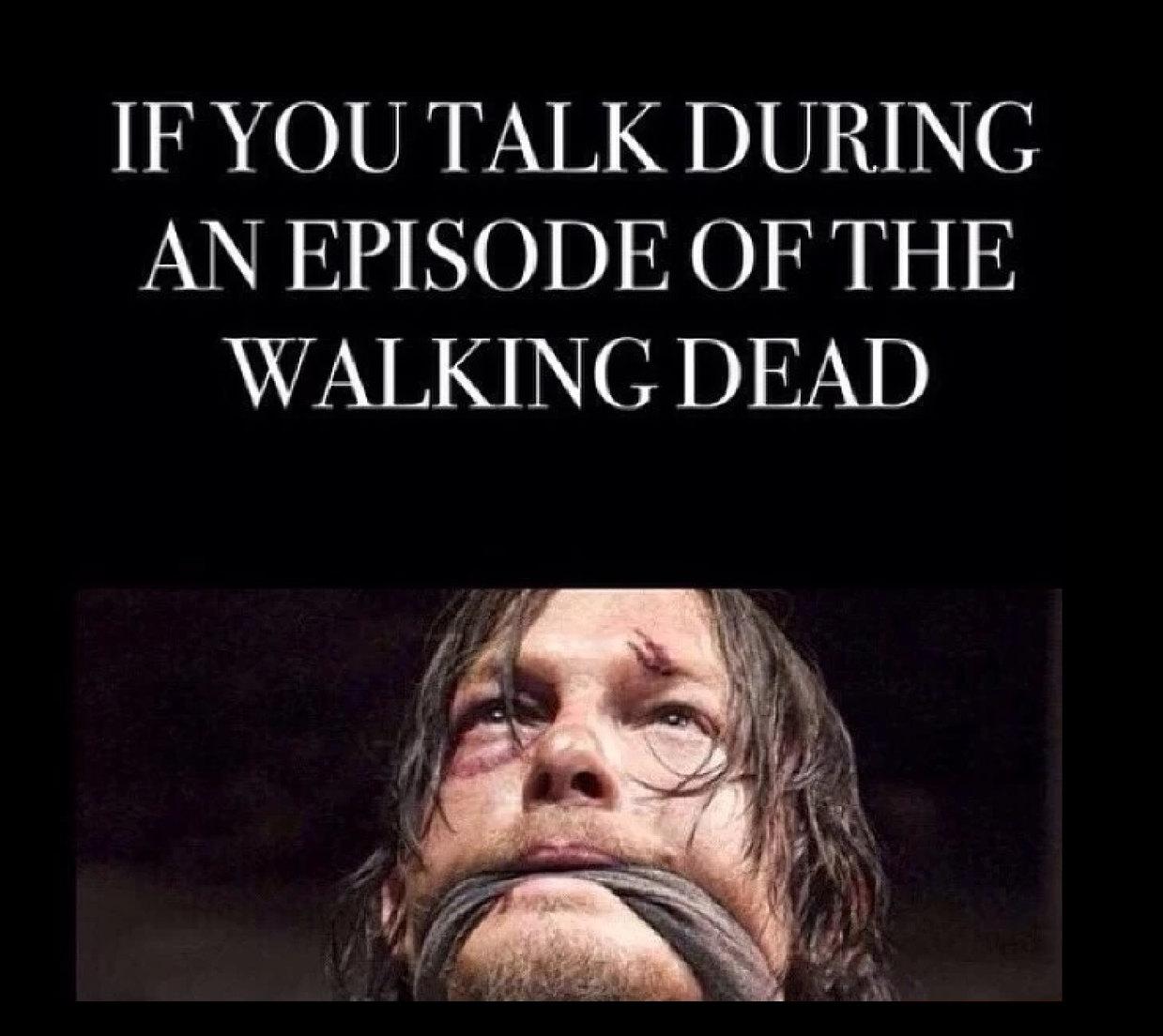 Walking dead - meme