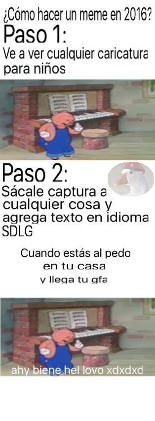 Lo del idioma SDLG es relativo xD - meme