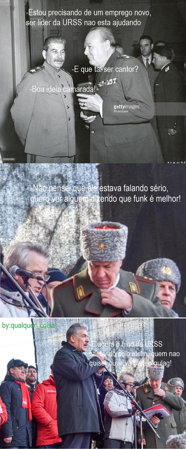 quem nao bater palmas vai para o gulag - meme