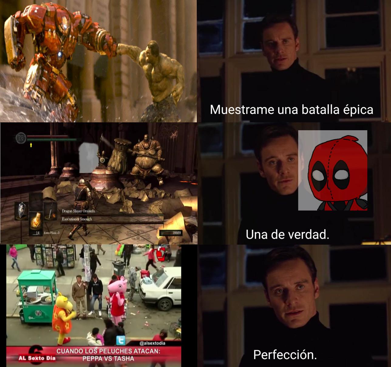 La pelea más épica del universo - meme