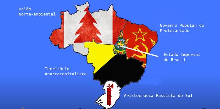 Mapa alternativo foda - meme