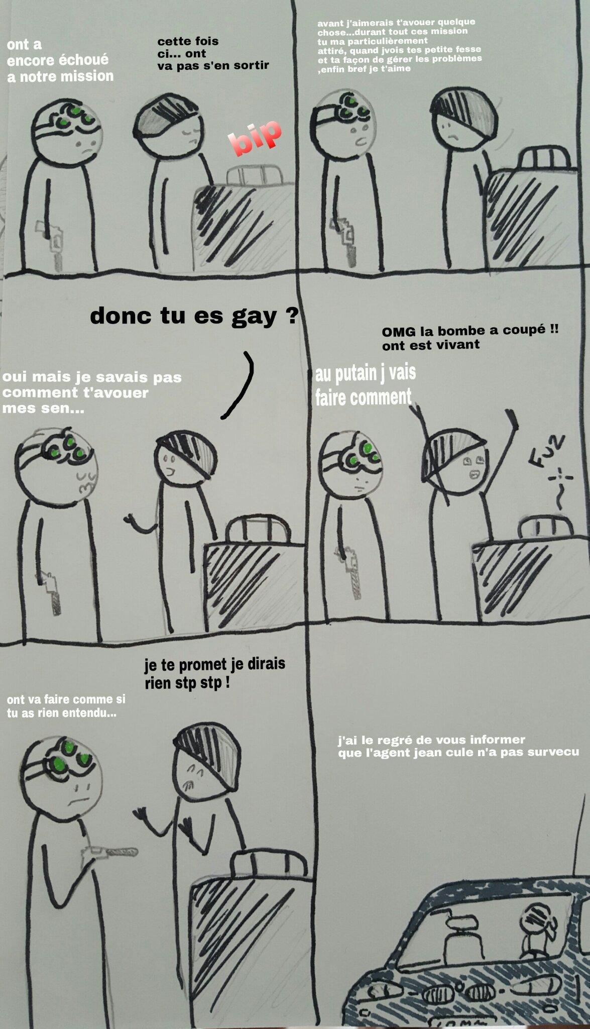 AAAH GAY - meme