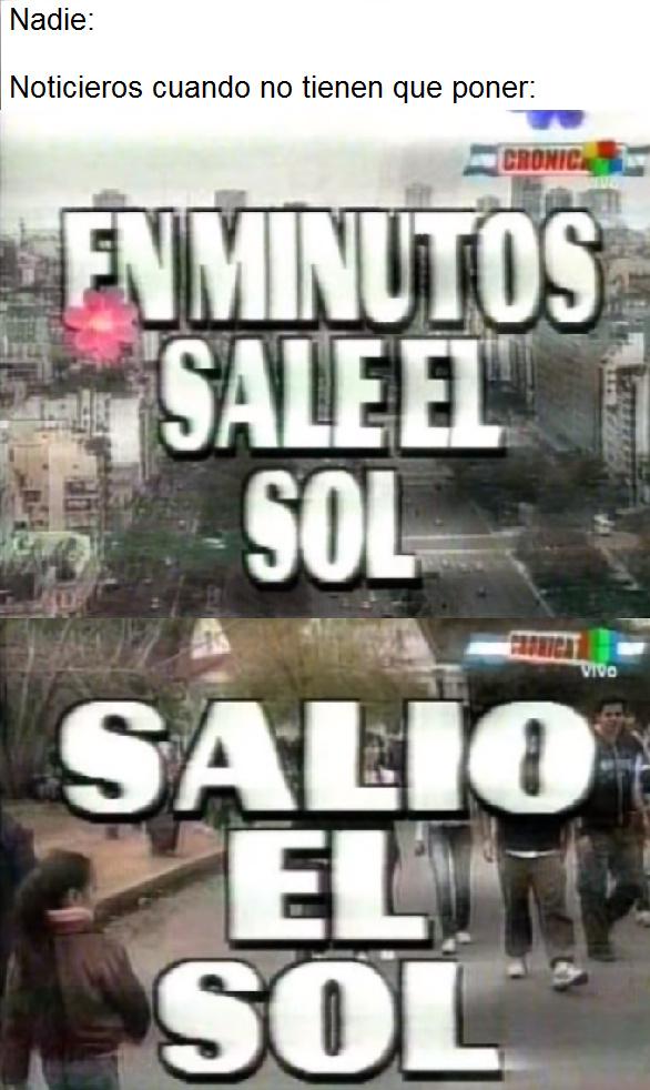 Crónica TV - meme