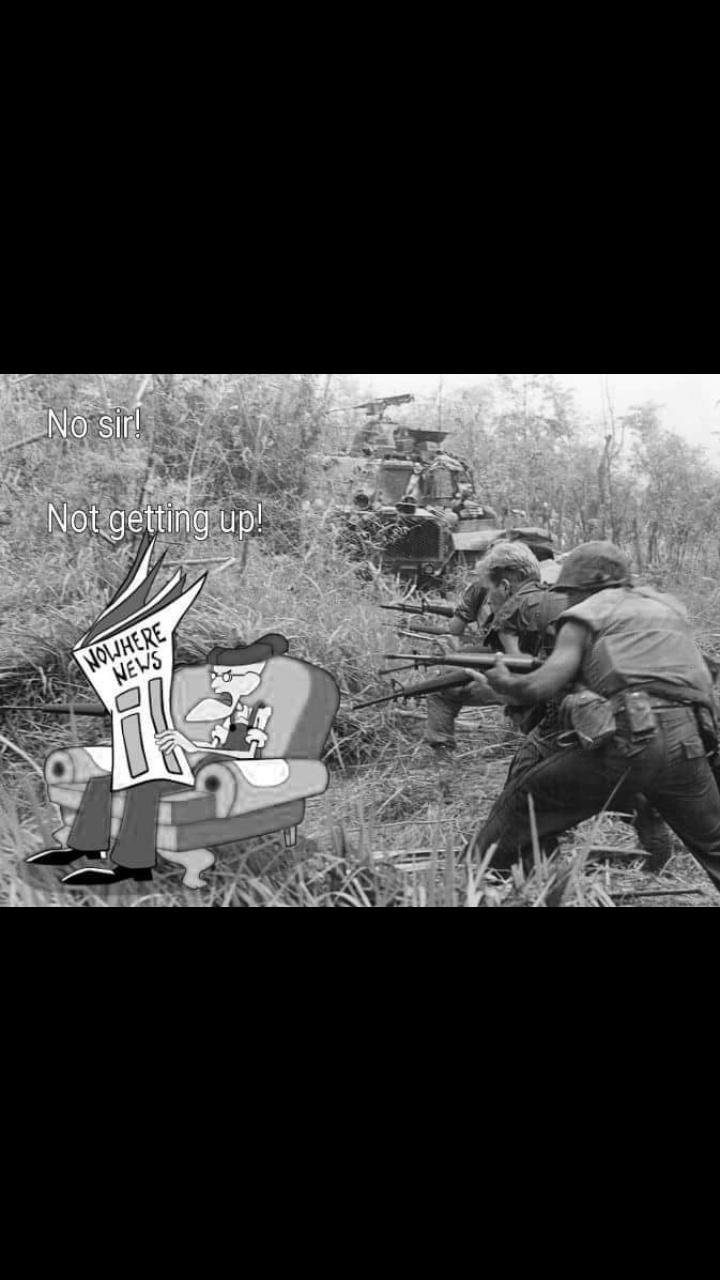 Nam has Eustace flashbacks - meme
