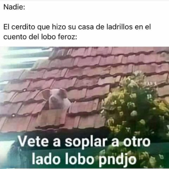 Lobo ctm - meme