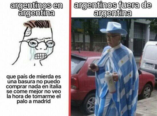 Jsjsjsj. Lamentablemente asi es argentina del siglo 21 - meme