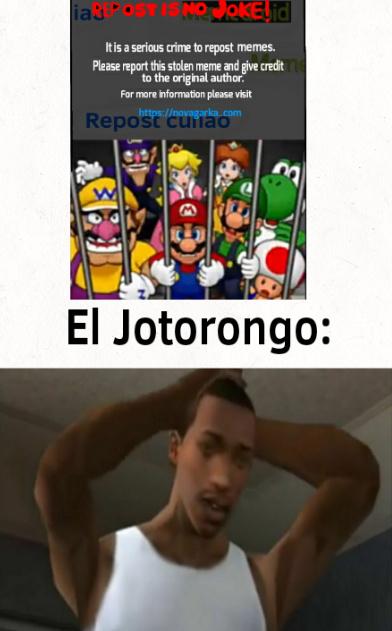Jotorongo - meme