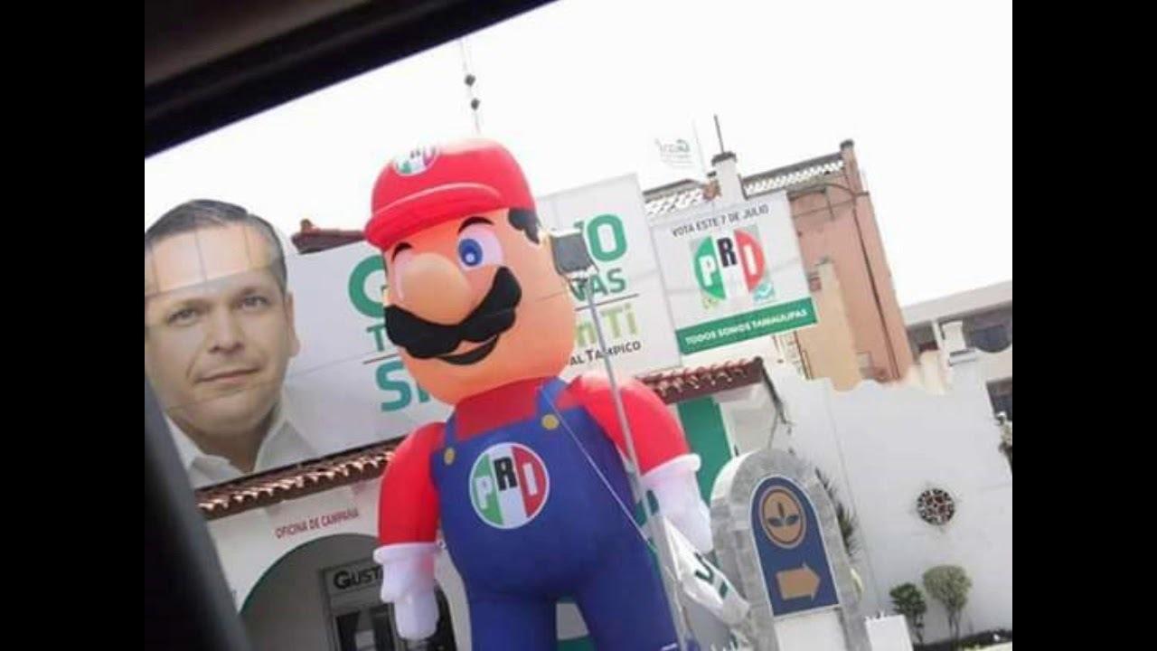 Mario es de El PRI, Se nos fue un Idolo. - meme