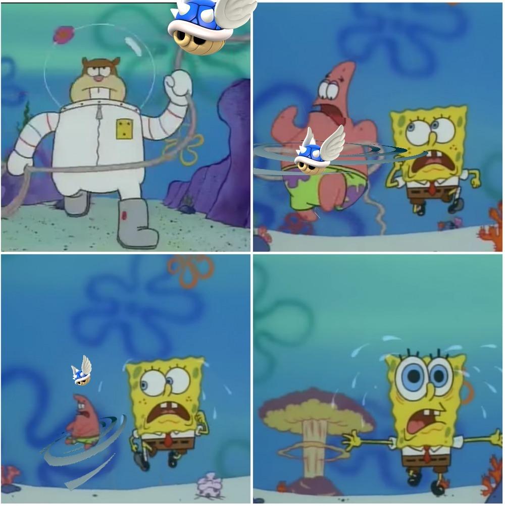 Blue shells - meme