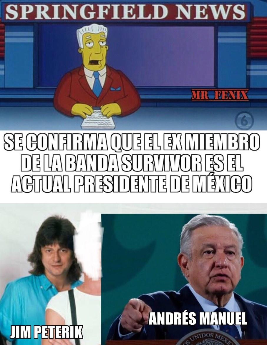 Parece que fue necesario que fuese Mexicano para ser presidente (realmente siento que si se parecen en esas fotos) - meme