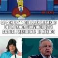 Parece que fue necesario que fuese Mexicano para ser presidente (realmente siento que si se parecen en esas fotos)