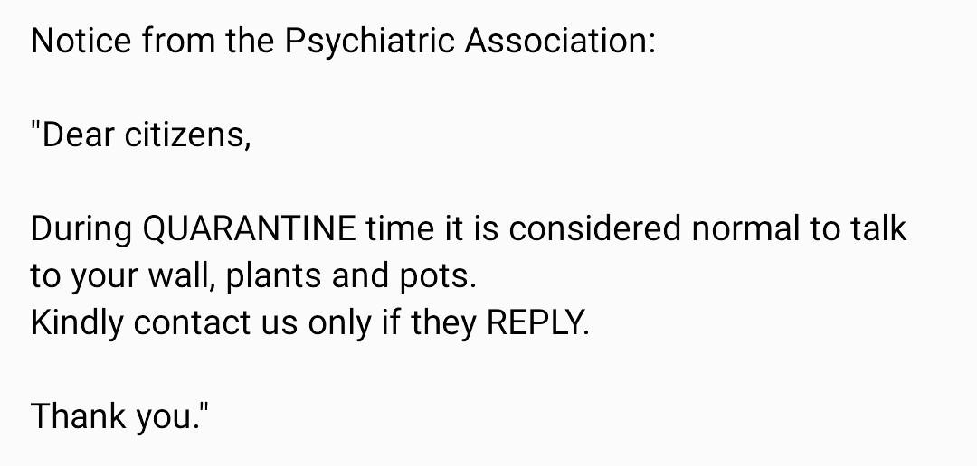 Psychiatric advice - meme