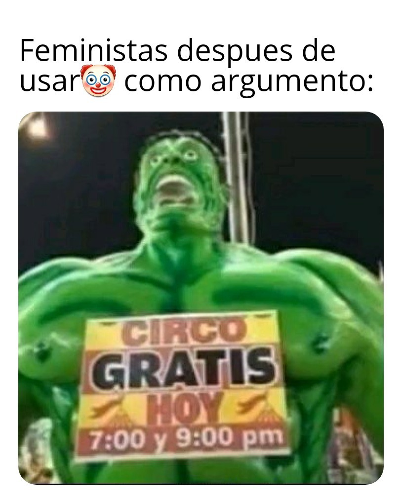 Circo gratis xd - meme