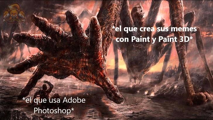 """""""envidiosos dirán que es paint"""" xd - meme"""