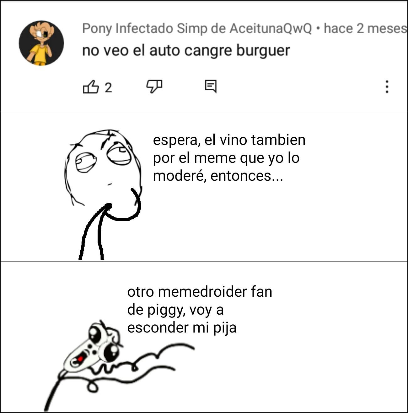 No puede ser, otro fan de piggy parecido a lacosa7227hd - meme