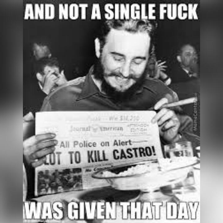 Not sure if Liam Neeson or Fidel Castro... - meme