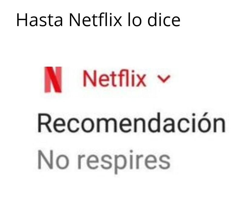 Netflix asesino - meme