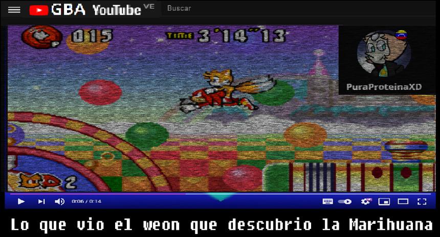 Ese nivel del Sonic advance 3 siempre se me hizo algo raro. - meme