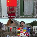 Don't trust China, China is asshole