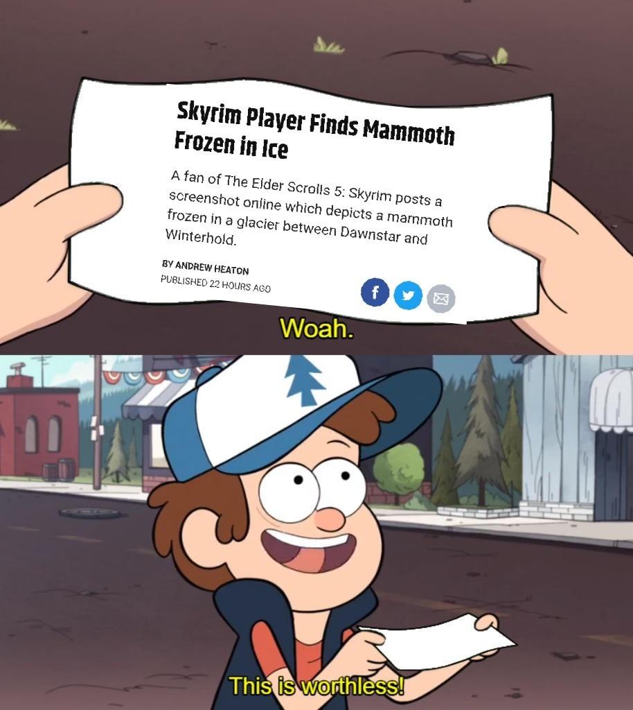 Deep lore - meme
